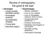 review of netnography the good the bad