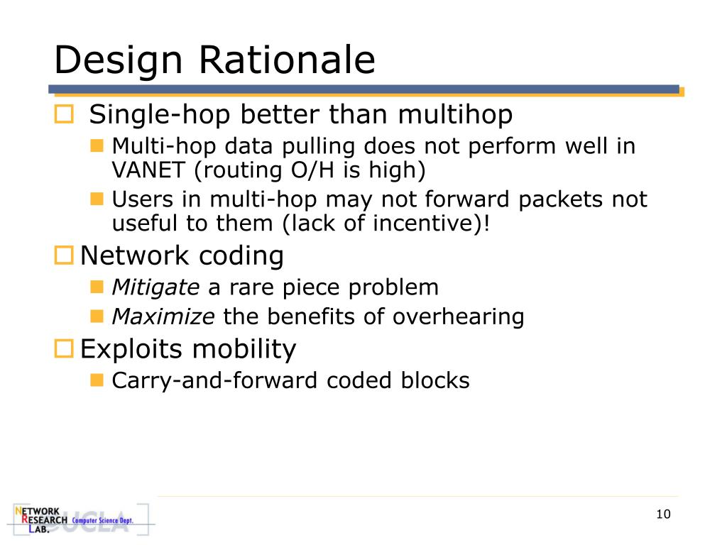 Design Rationale