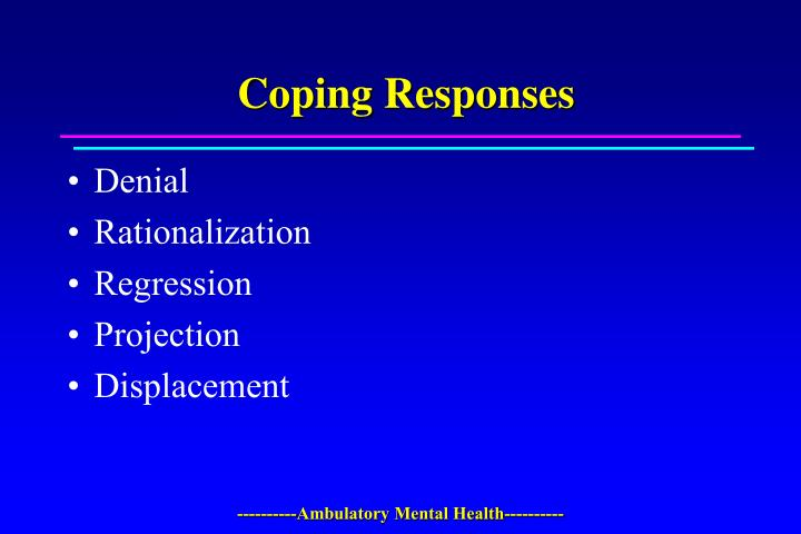 Coping Responses