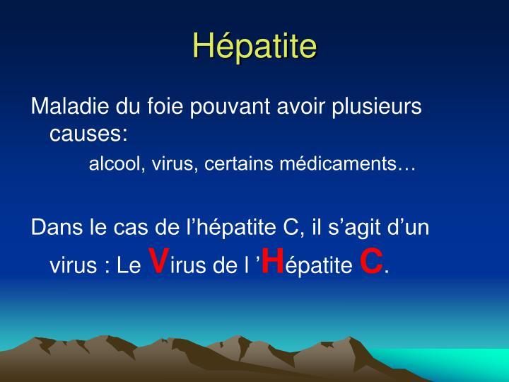 Hépatite