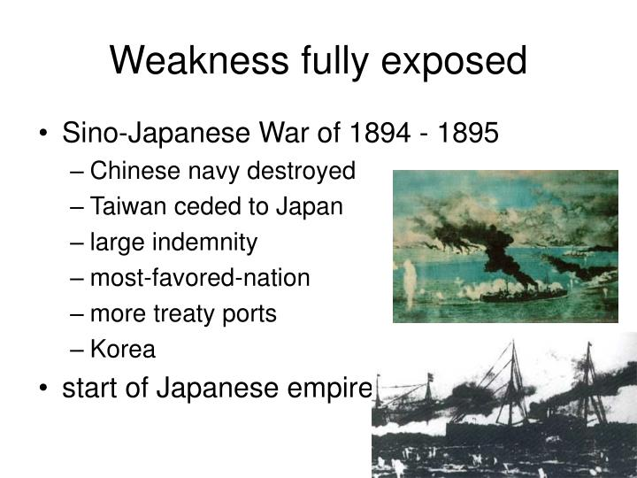 Weakness fully exposed