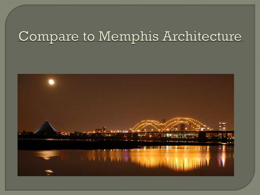 Compare to Memphis Architecture
