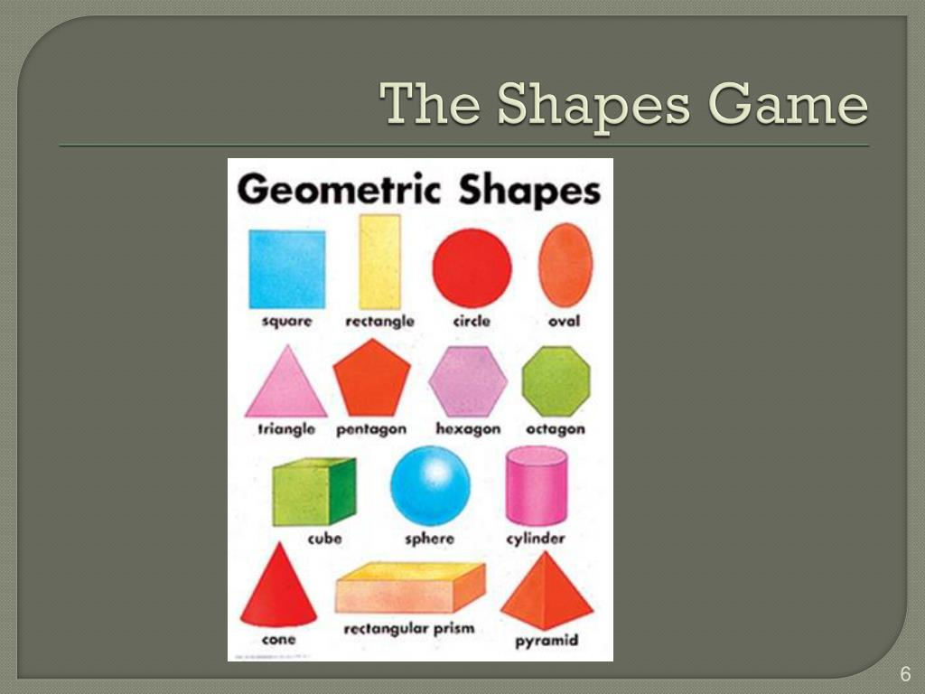 The Shapes Game