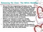 romancing the clone the white wedding4