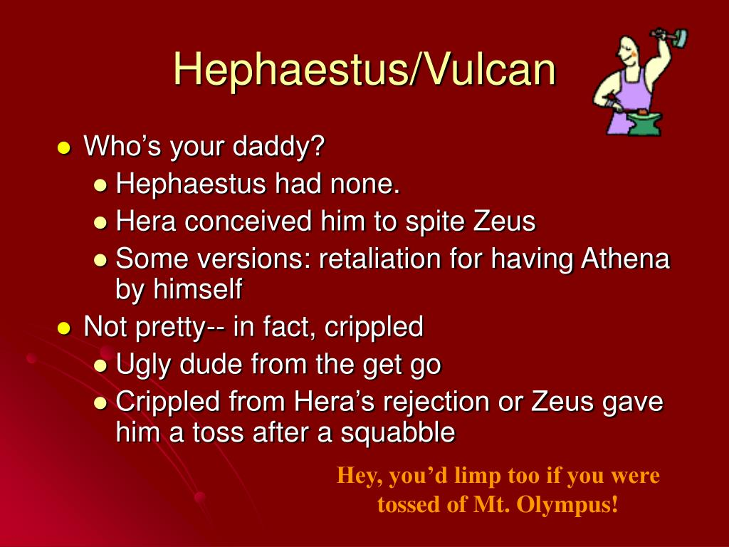 Hephaestus/Vulcan