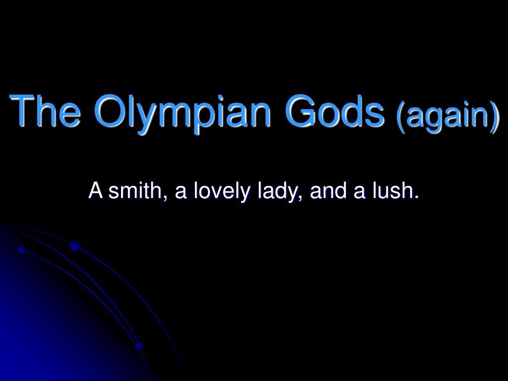 The Olympian Gods