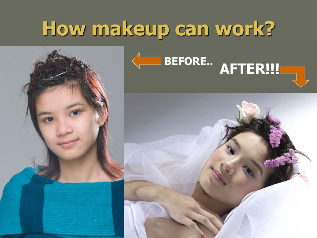 How makeup can work?