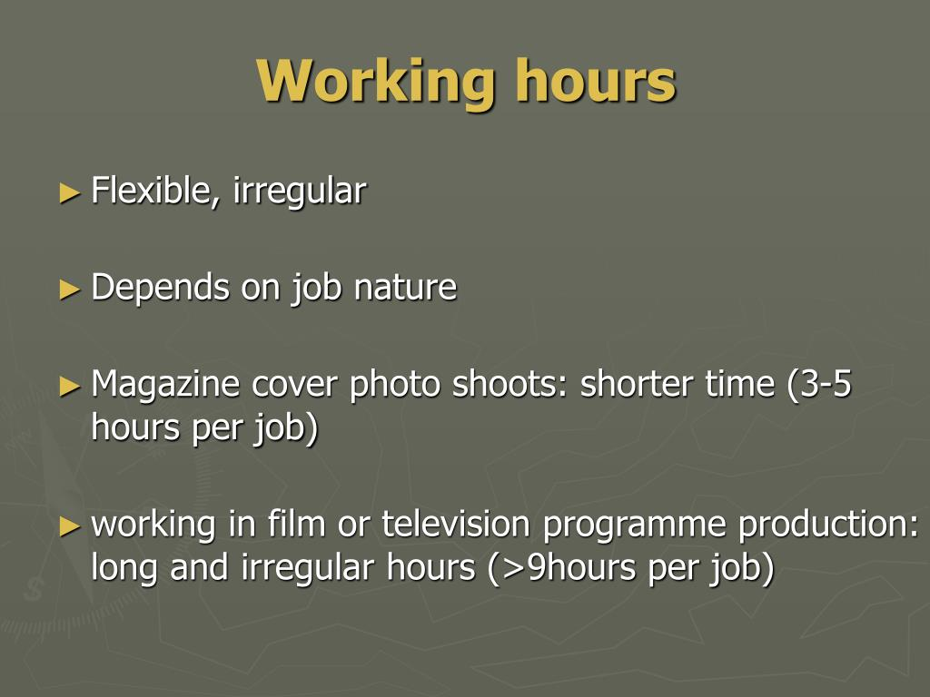 Working hours