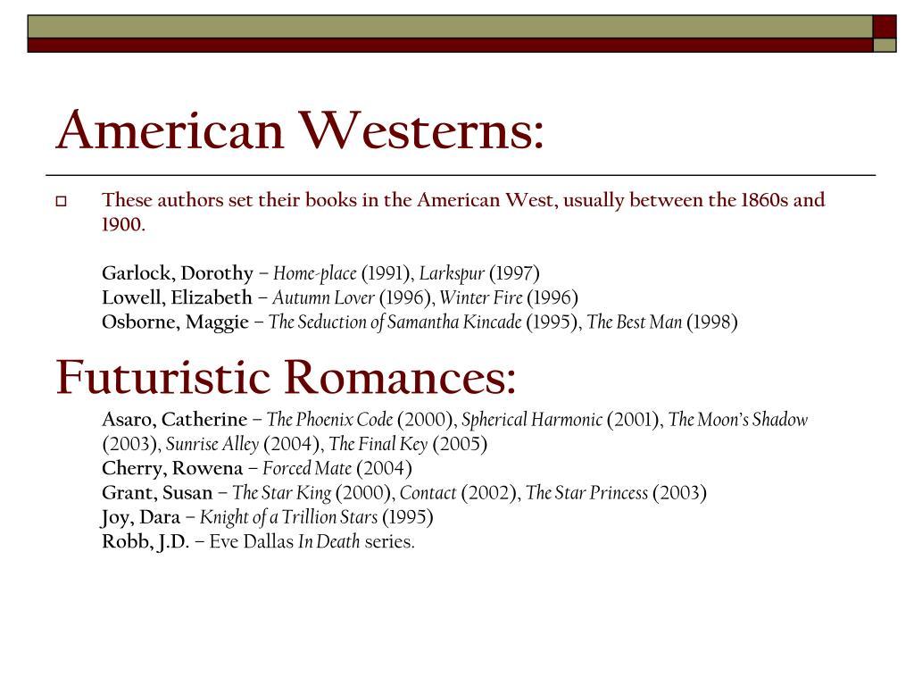 American Westerns: