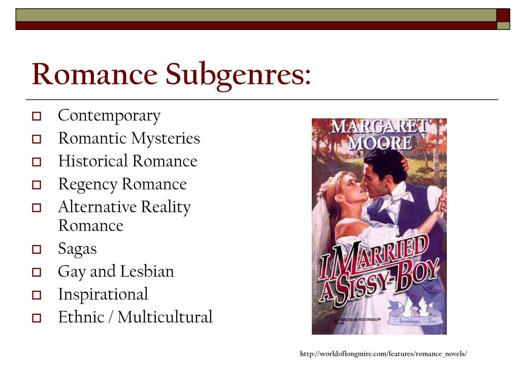 Romance Subgenres: