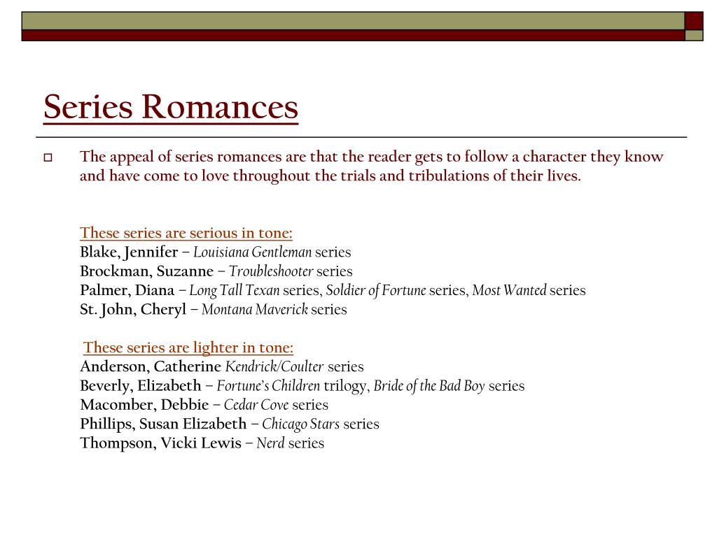 Series Romances