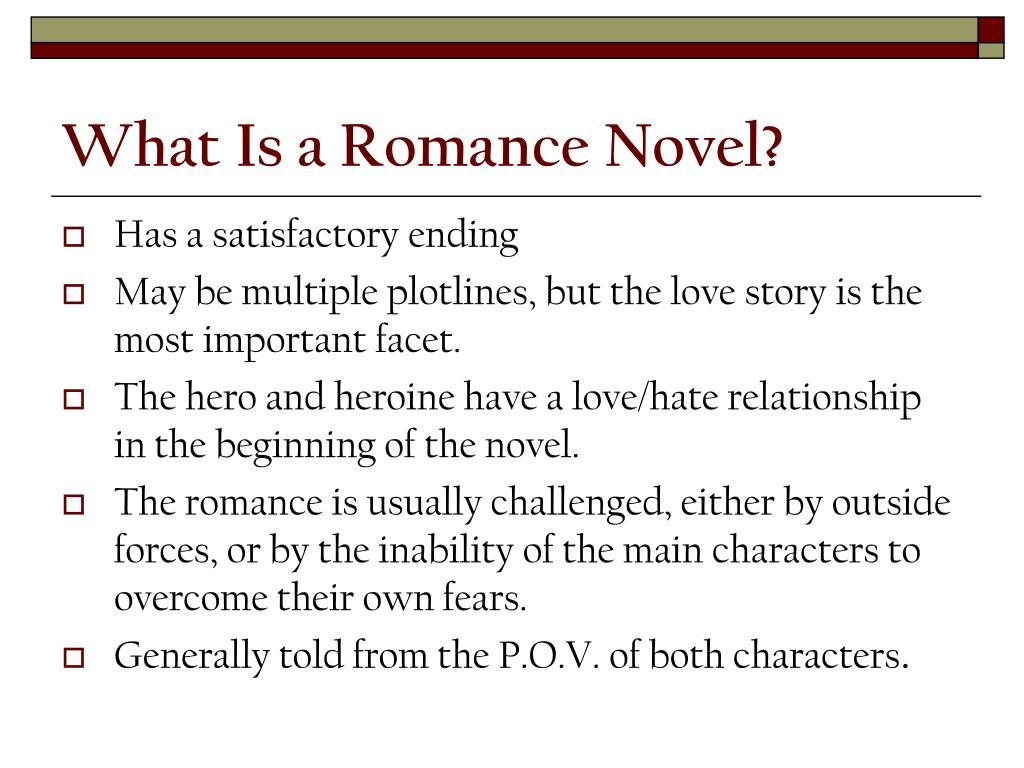 What Is a Romance Novel?