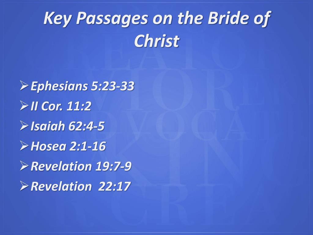 Key Passages