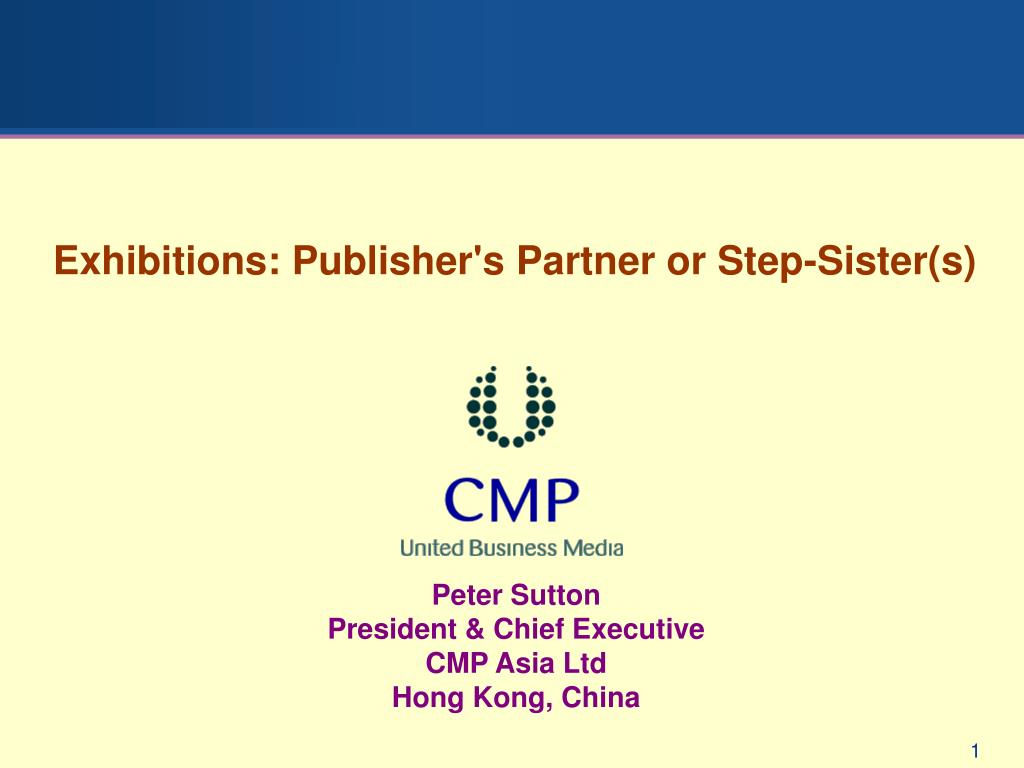 Exhibitions: Publisher's Partner or Step-Sister(s)