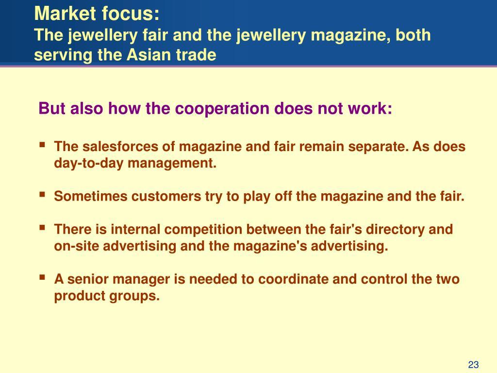 Market focus: