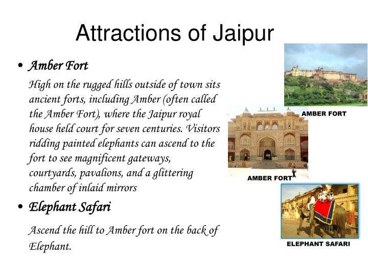 Attractions of Jaipur