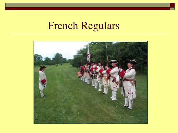 French Regulars