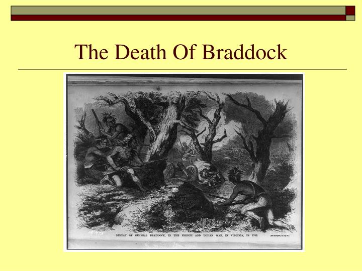 The Death Of Braddock