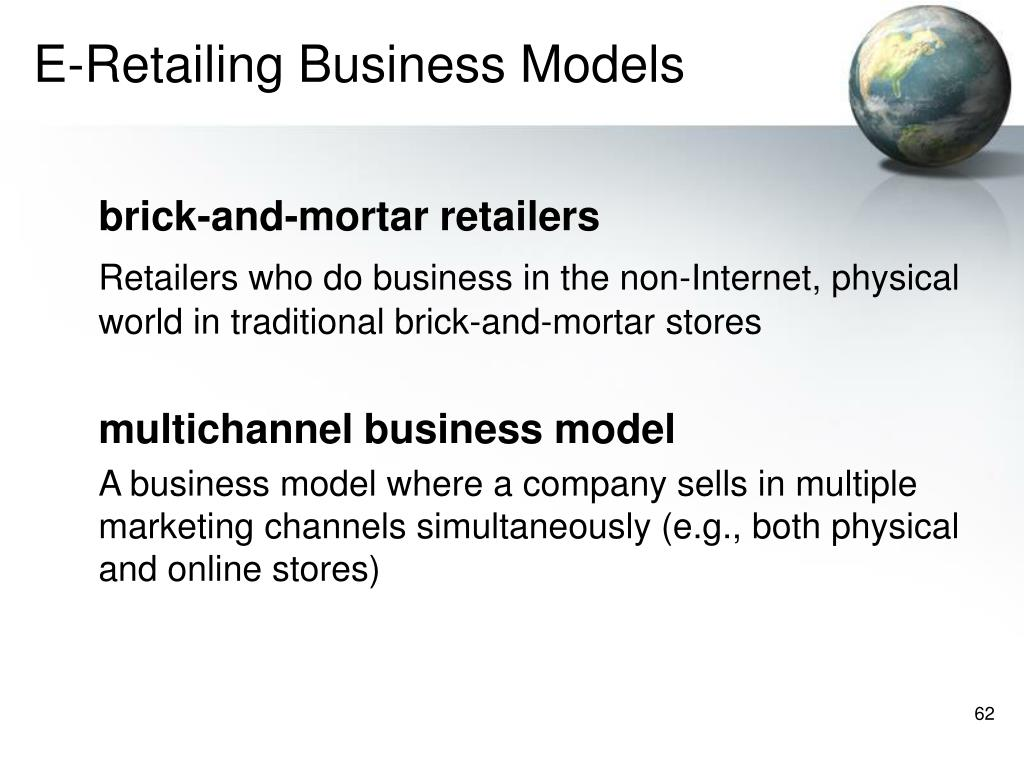 E-Retailing Business Models