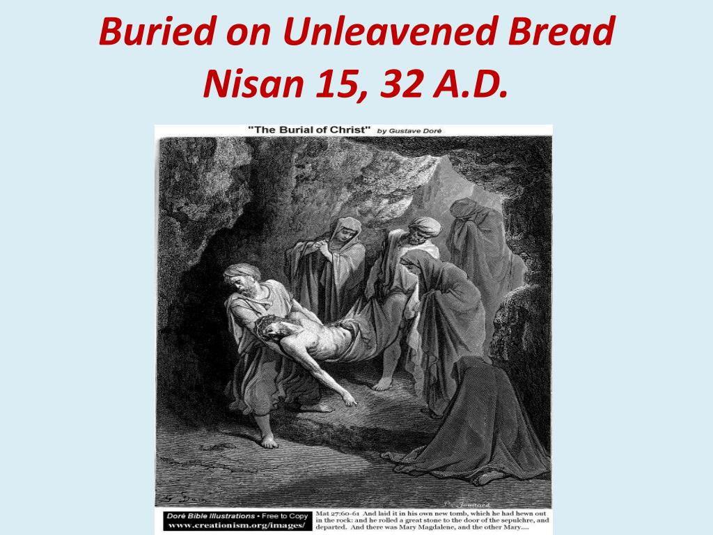 Buried on Unleavened Bread