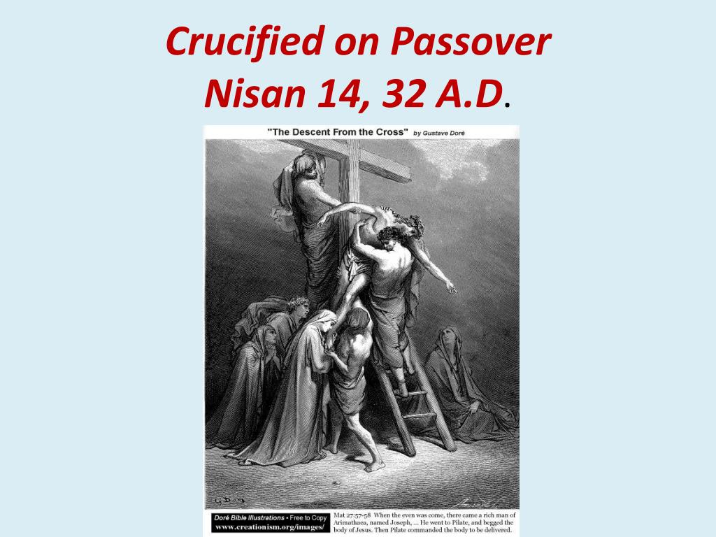 Crucified on Passover
