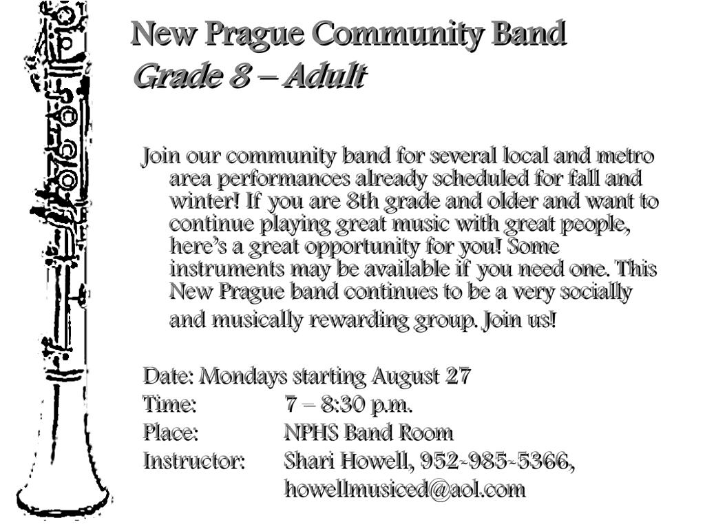 New Prague Community Band