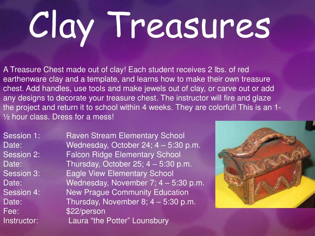 Clay Treasures