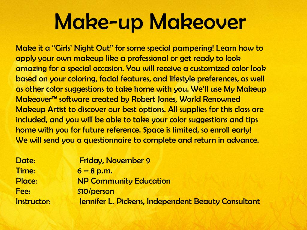 Make-up Makeover