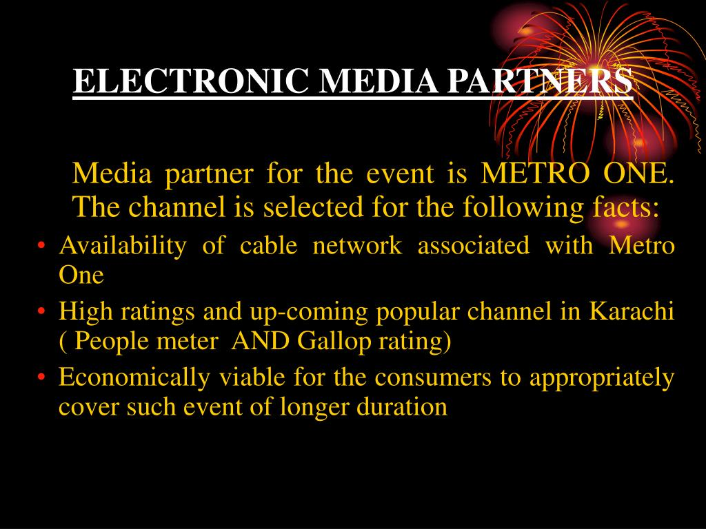 ELECTRONIC MEDIA PARTNERS