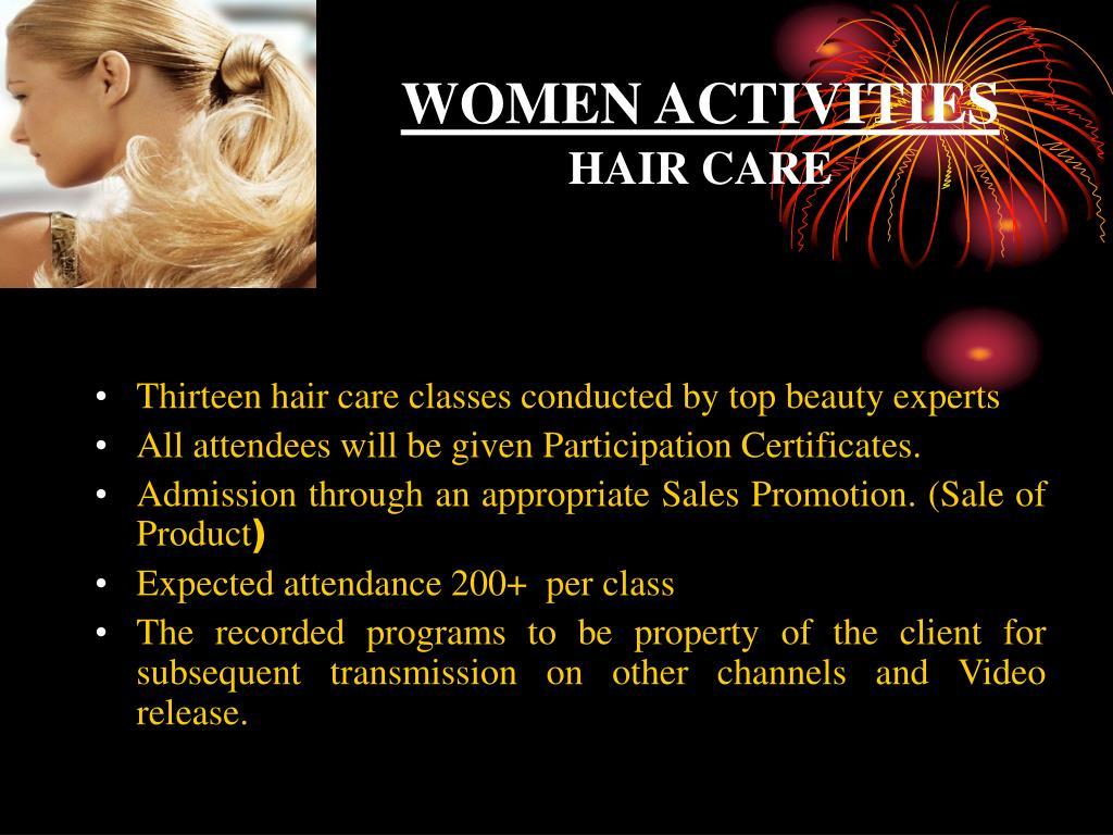 WOMEN ACTIVITIES