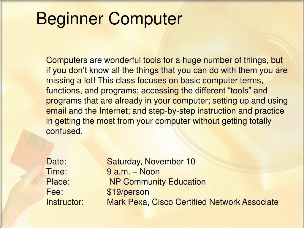 Beginner Computer