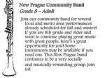 new prague community band grade 8 adult