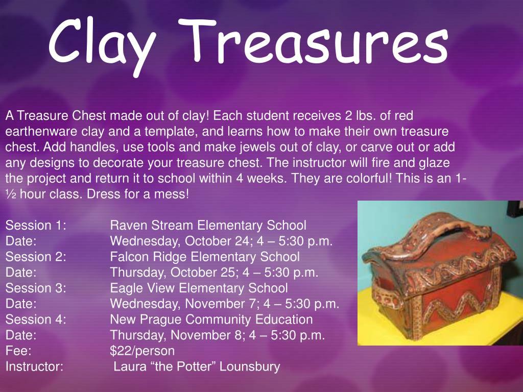 Clay Treasures