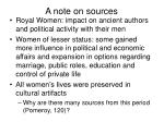 a note on sources