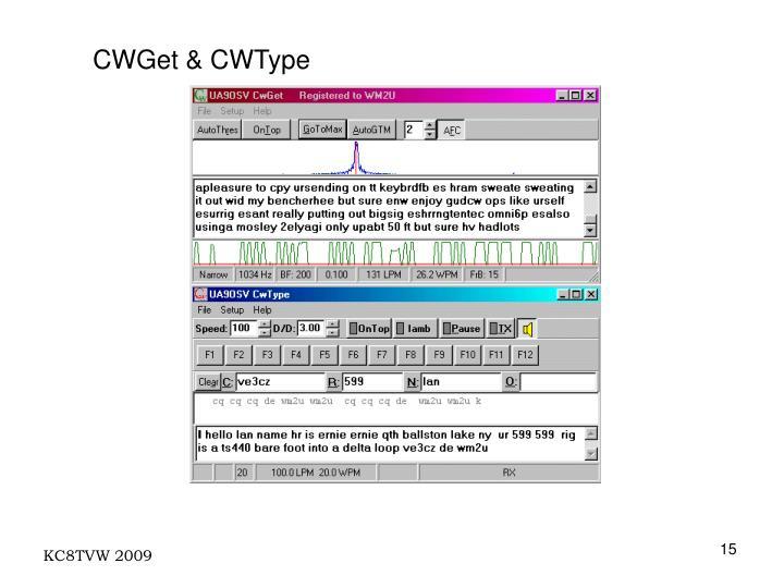 CWGet & CWType