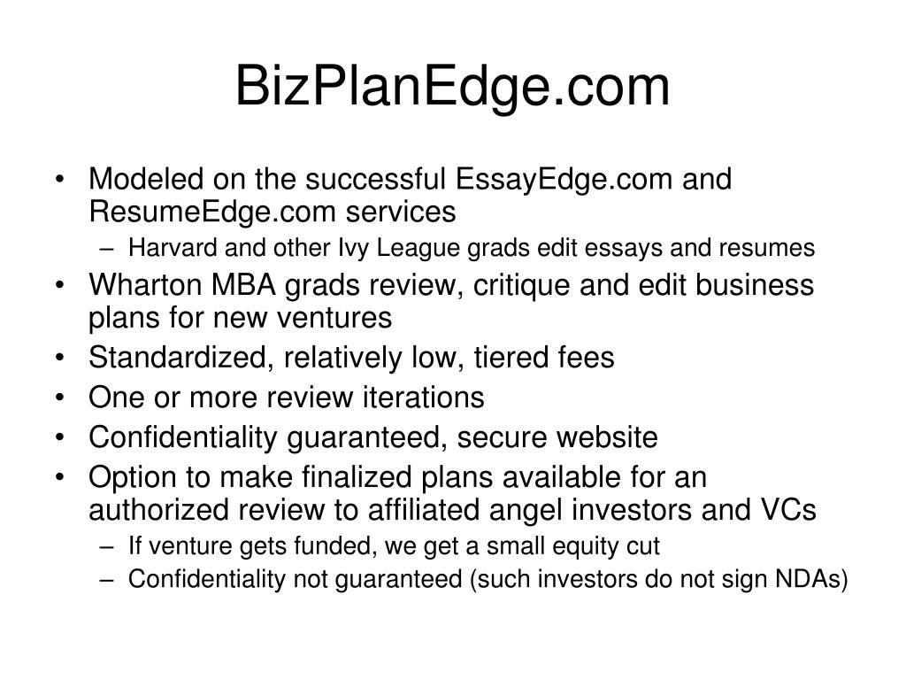 BizPlanEdge.com