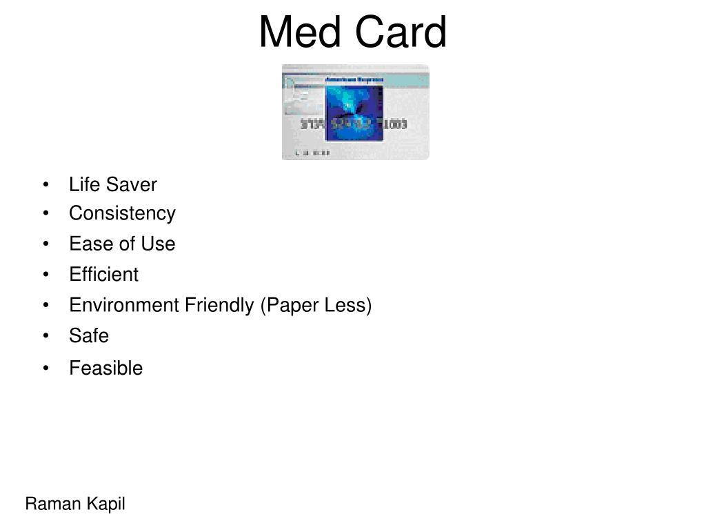 Med Card
