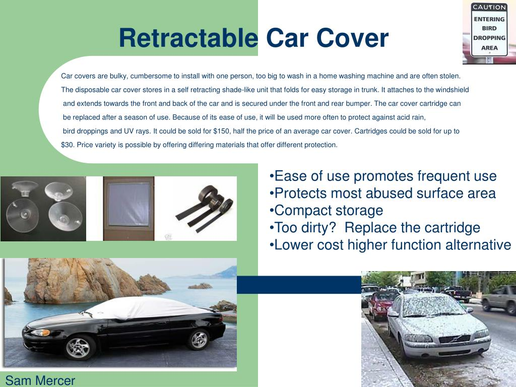 Retractable Car Cover