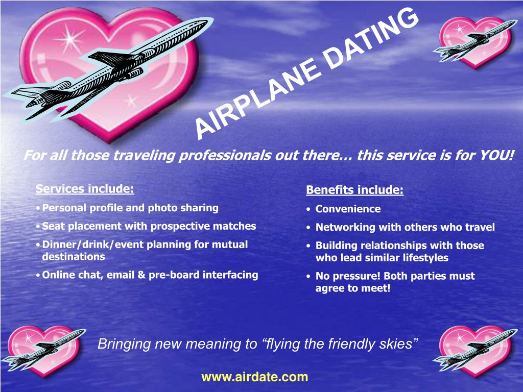 AIRPLANE DATING
