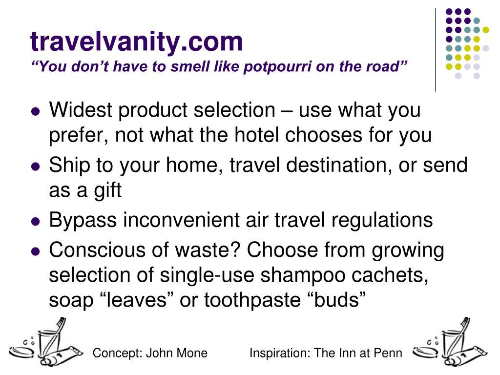 travelvanity.com