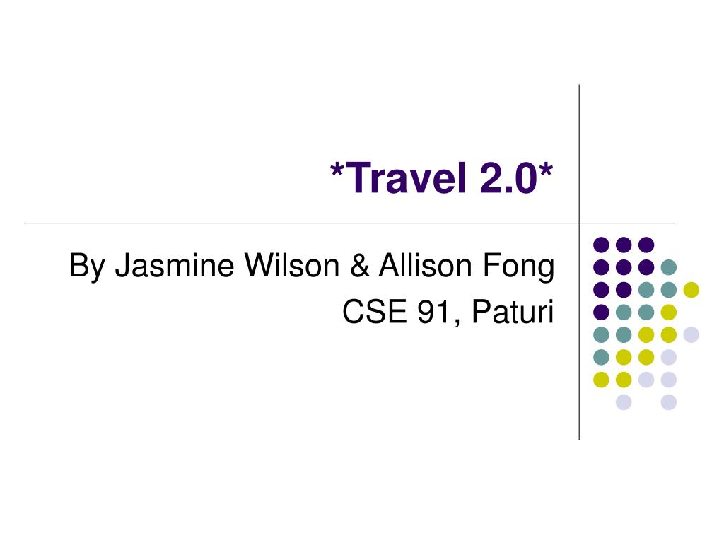 *Travel 2.0*