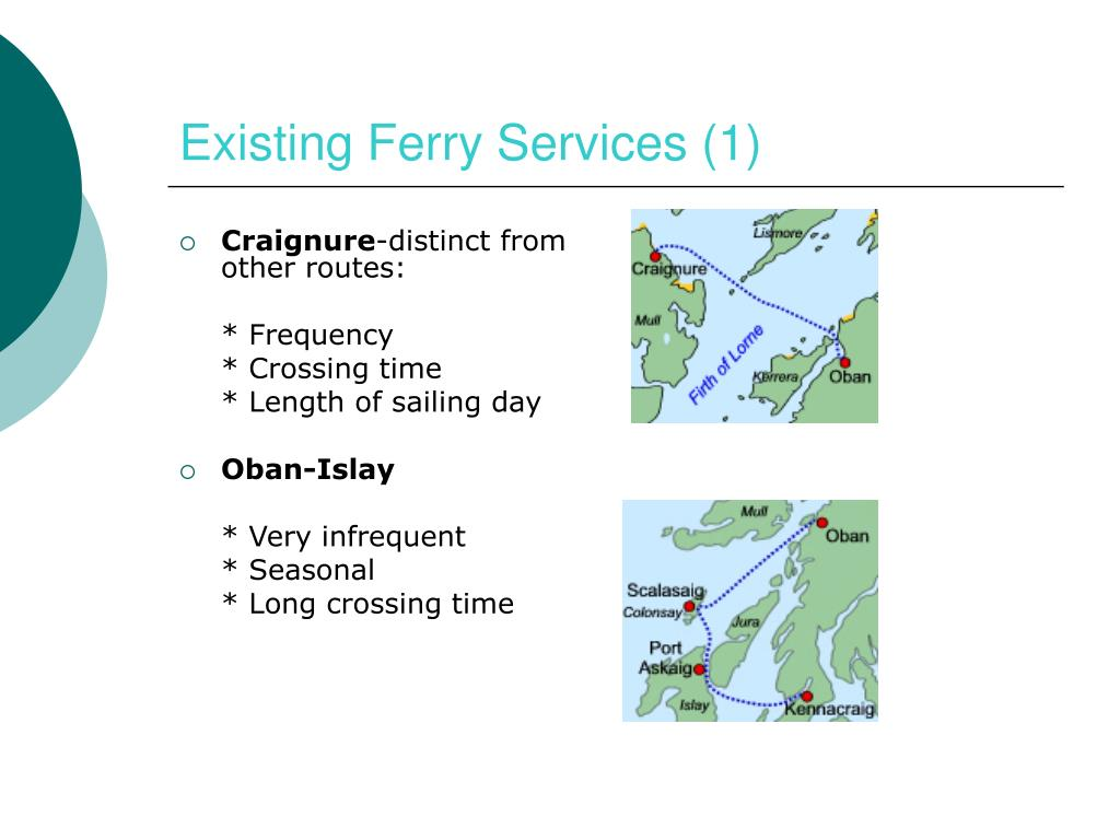 Existing Ferry Services (1)
