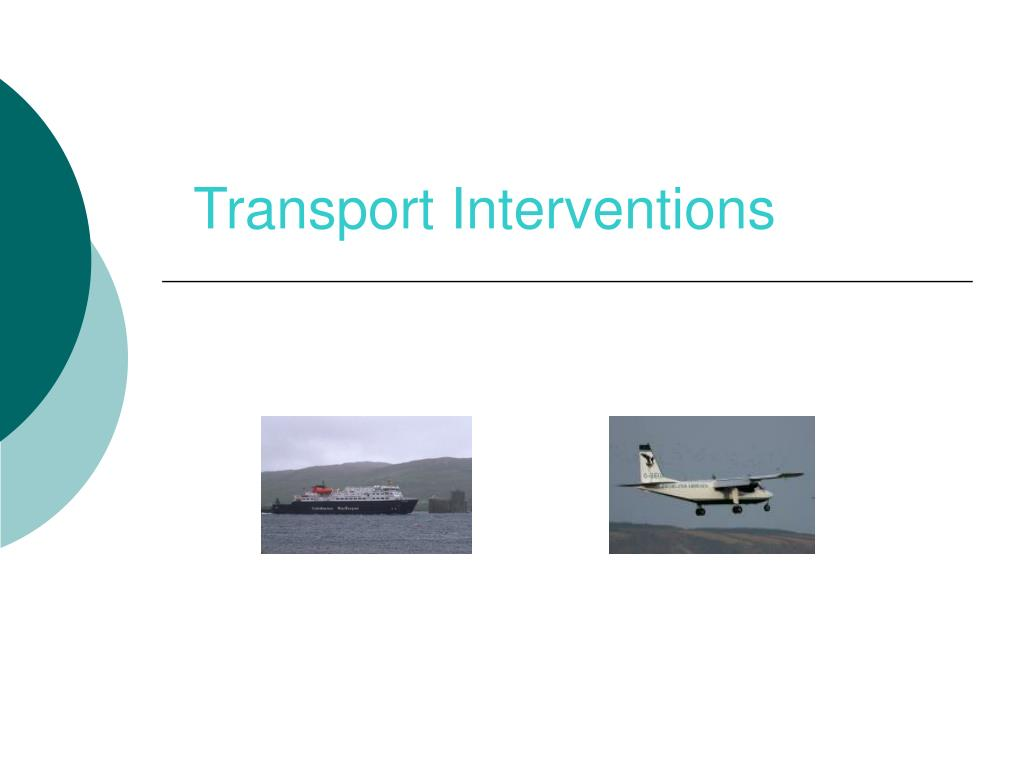 Transport Interventions