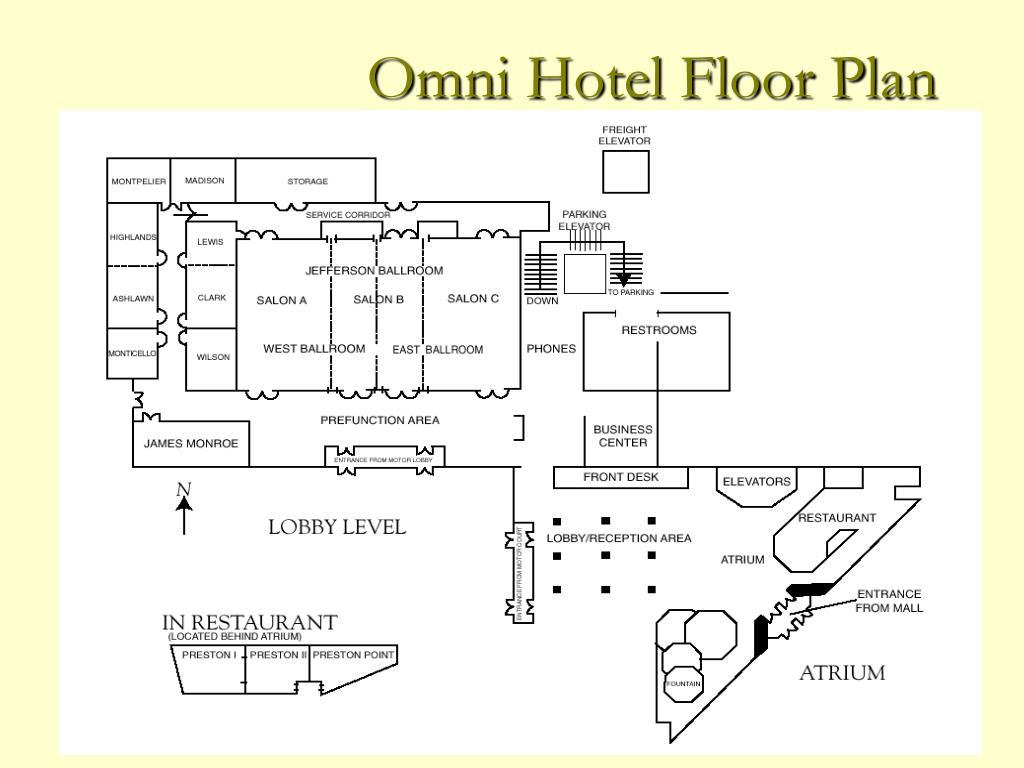 Omni Hotel Floor Plan