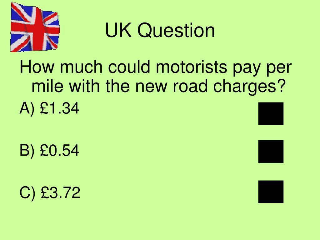 UK Question
