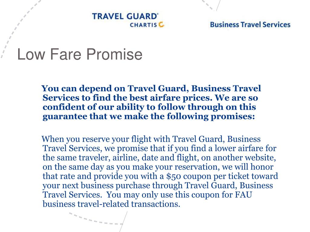 Low Fare Promise