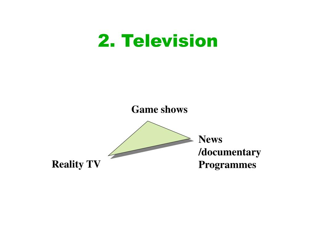 2. Television