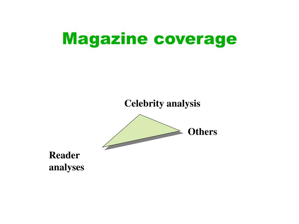Magazine coverage