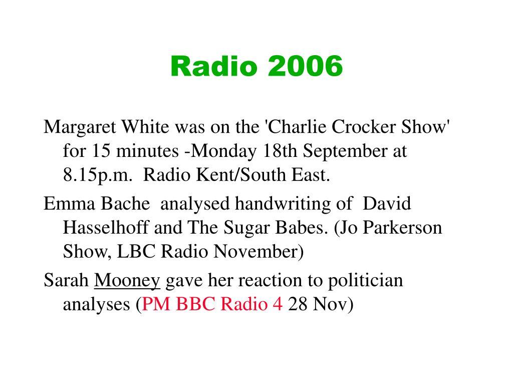 Radio 2006