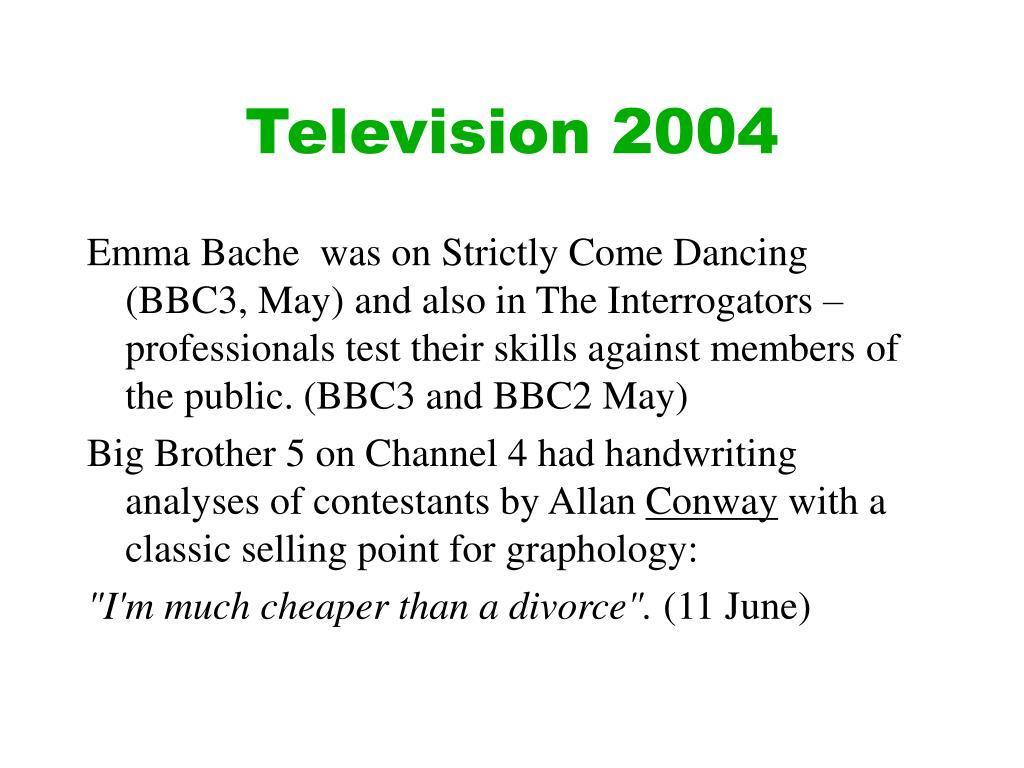 Television 2004
